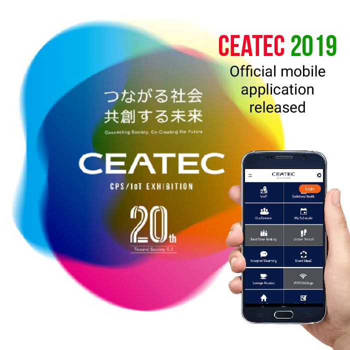 CEATEC 2019 powered by Pinmicro