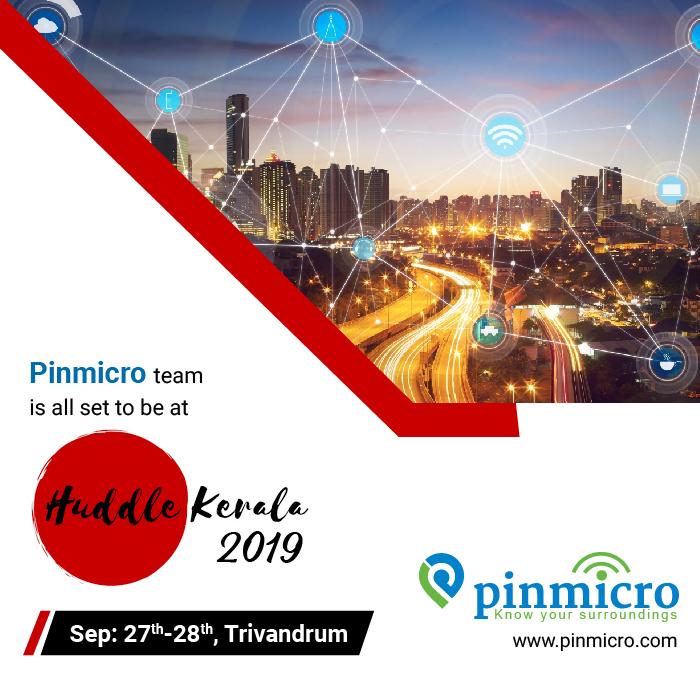 Pinmicro at Huddle Kerala